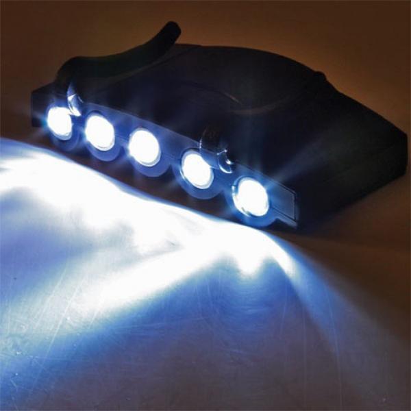 Linterna LED para gorra JSP o casco