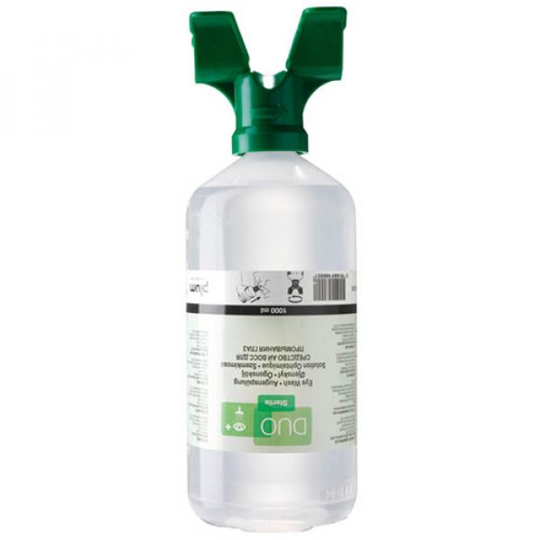 Botella lavaojos Plum Duo 1000ml