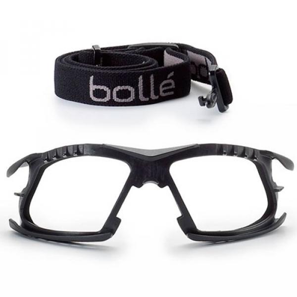 Marco facial y cinta elástica para gafa Bollé Rush+