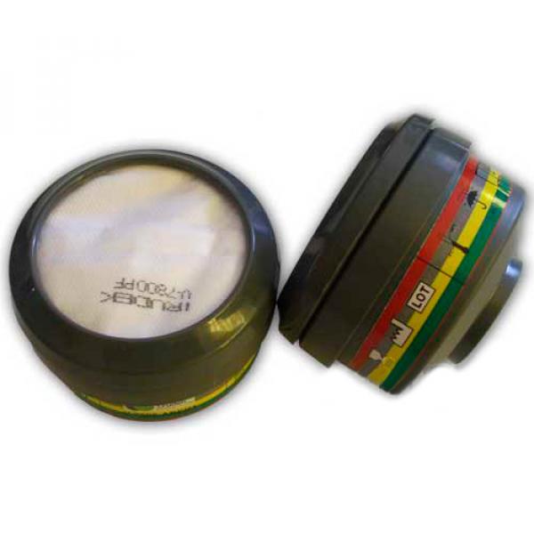 Filtro clase 1 tipo ABEK1 para ref. 0932V800SM (par)