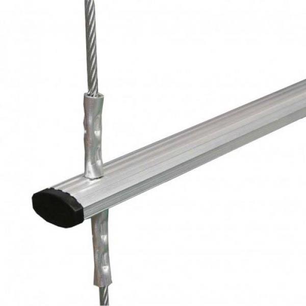 Escalera de cable portátil de 5m