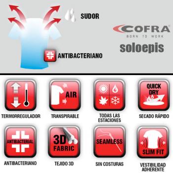 Camiseta interior térmica Cofra306