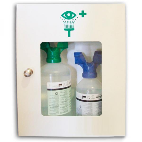Estación botellas lavaojos DUO combinadas
