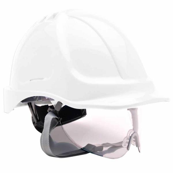Casco con gafa integrada abatible