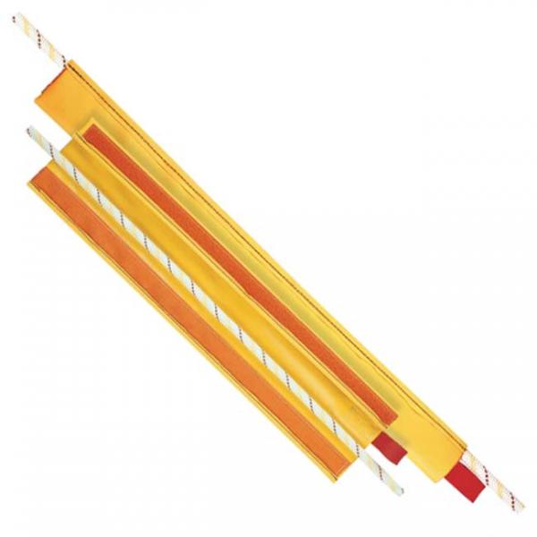 Protector de cuerda para evitar rozaduras prolongando así la vida útil de la cuerda.
