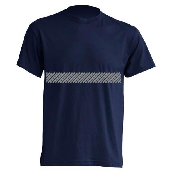 Camiseta con banda reflectante