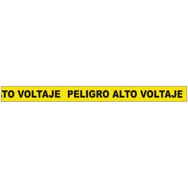 Cinta de balizar peligro alto voltaje