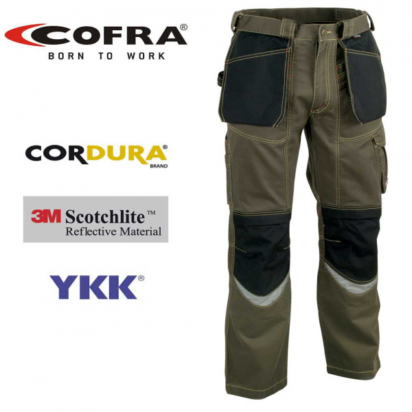 Pantalón Cofra Carpenter fango (Tallas 44-54-56-58)