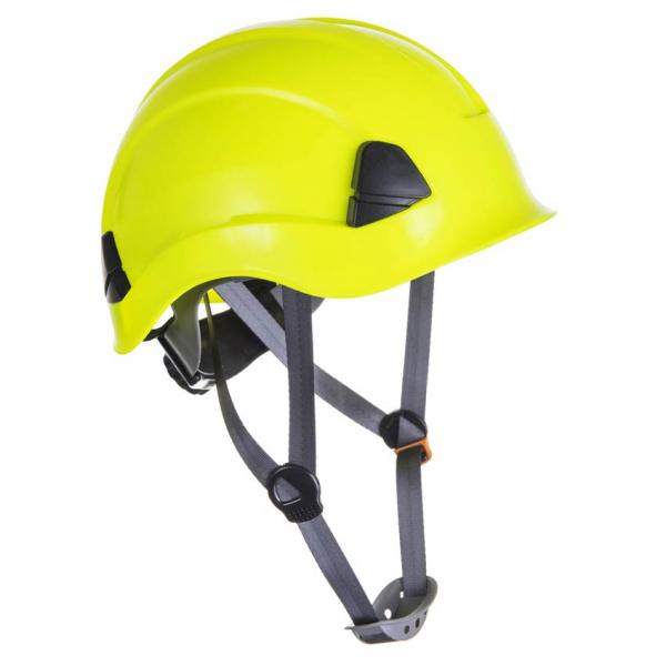 Casco para trabajos verticales amarillo