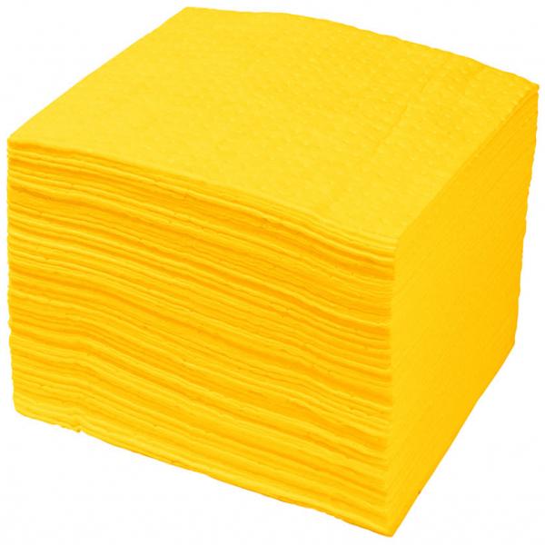 Almohadillas absorbentes químicos
