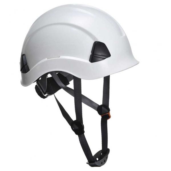 Casco para trabajos verticales blanco