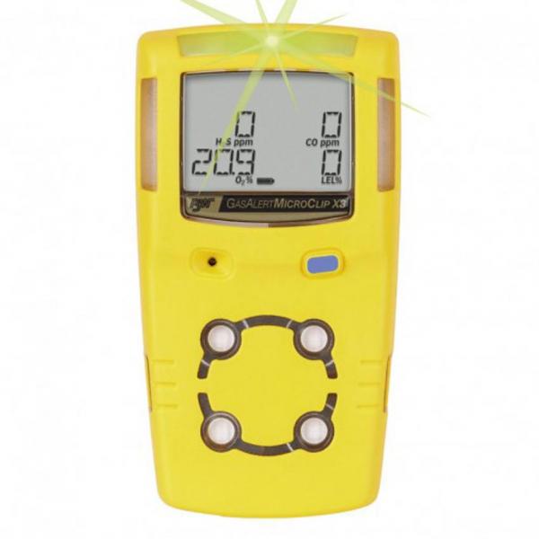 Detector de gases LEL / O2 / CO / H2S
