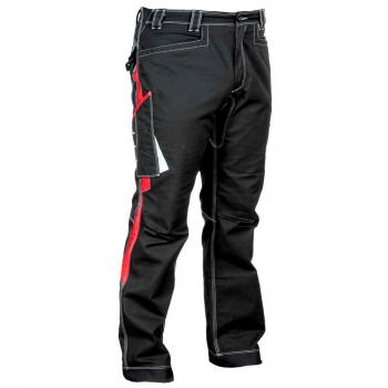 Pantalón y softshell Cofra negro y rojo789