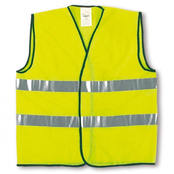 Chaleco reflectante amarillo EN20471 (100uds)