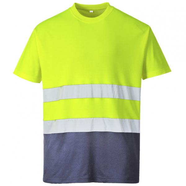 Camiseta reflectante algodón confort