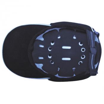 Gorra antigolpes JSP negra EN812007