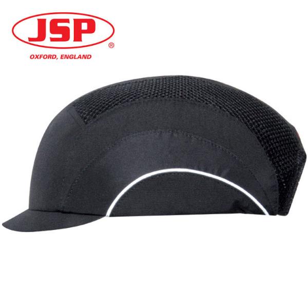 Gorra de seguridad JSP visera micro negra