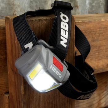 Linterna de cabeza NEBO Duo 250 Lumens033