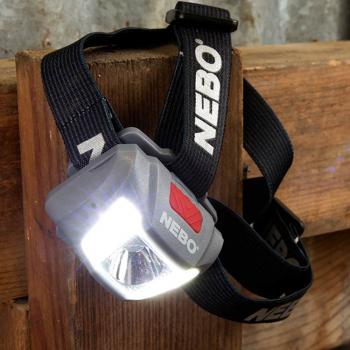Linterna de cabeza NEBO Duo 250 Lumens034