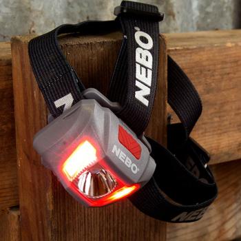 Linterna de cabeza NEBO Duo 250 Lumens035