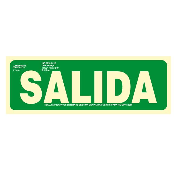 Señal Salida Clase A (Disponible en varios tamaños)