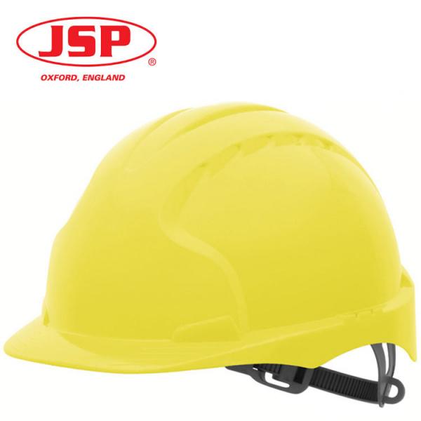 Casco JSP EVO3 Slip sin ventilar (amarillo o blanco)
