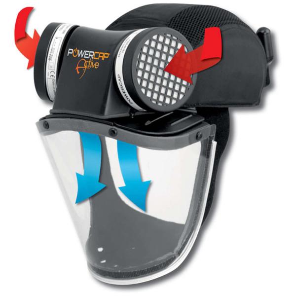 Protector respiratorio JSP PowerCap Active