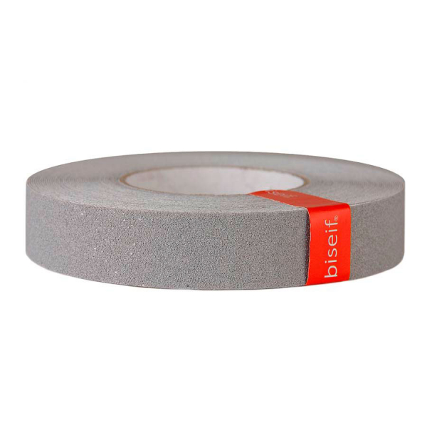 Cinta antideslizante gris 25mm x 18,3m