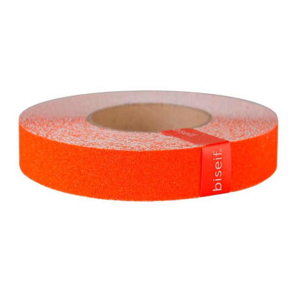 Cinta antideslizante naranja 25mm x 18,3m
