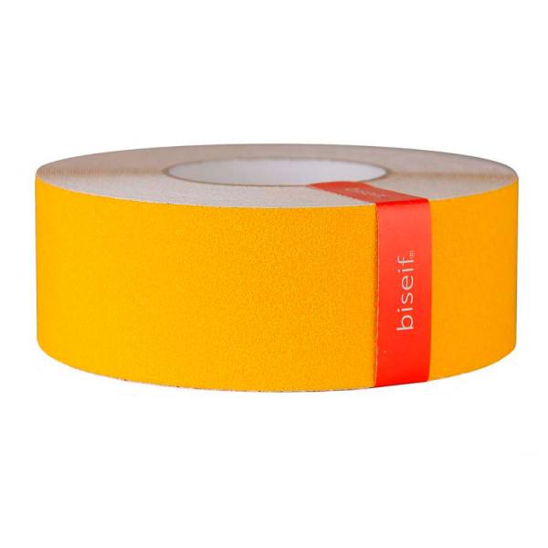 Cinta antideslizante amarilla de 50mm x 18,3m
