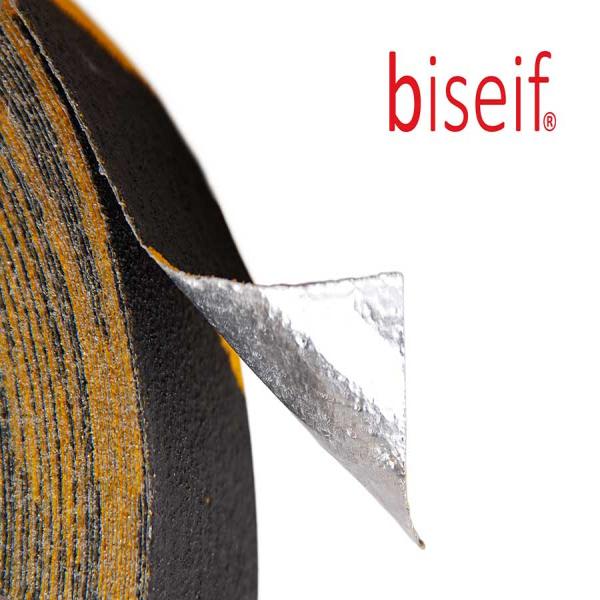 Cinta antideslizante conformable amarilla y negra de 50mm x 18,3m