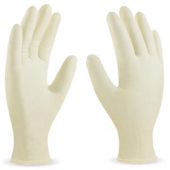 Caja 100uds. guantes látex