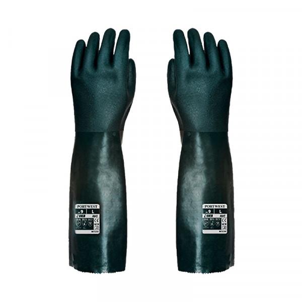 Guante protección química 45cm