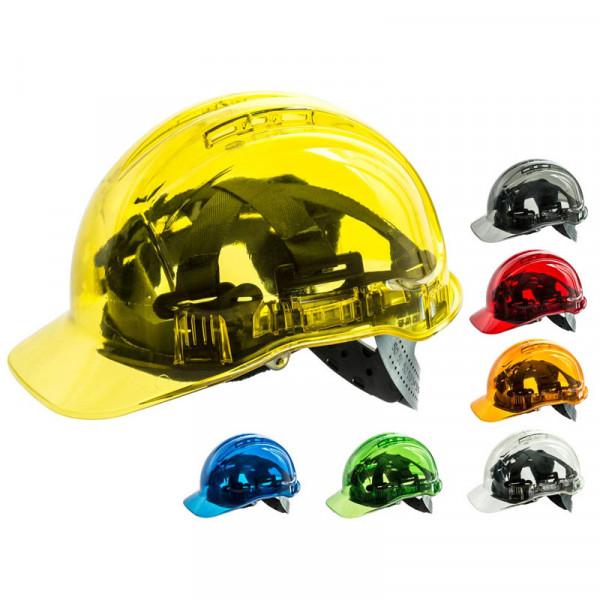 Casco de seguridad translúcido (7 colores)
