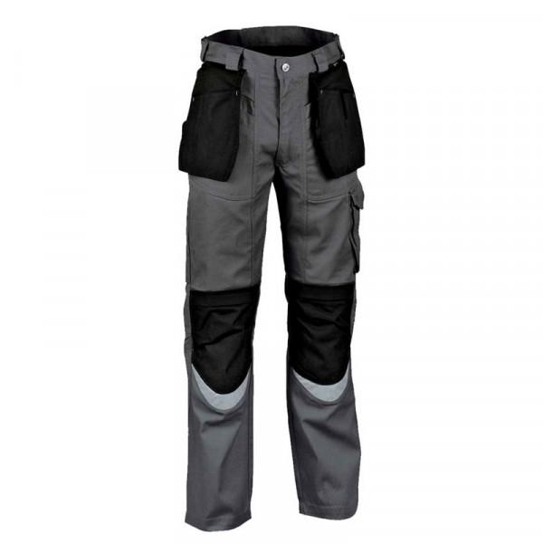 Pantalón Cofra con Cordura Gris y Negro