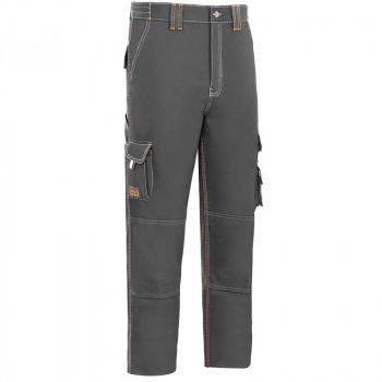 Pantalón algodón elástico triples costuras