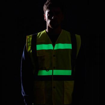 Chaleco alta visibilidad y fotoluminiscente854