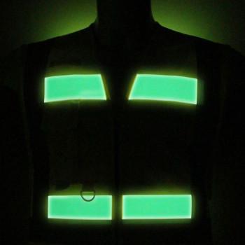 Chaleco alta visibilidad y fotoluminiscente855