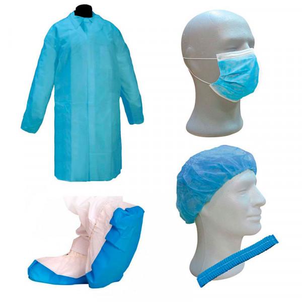 Kit ropa desechable para visitas