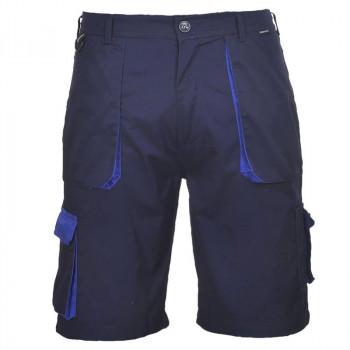 Bermuda de trabajo azul marino y azulina (Tallas M, L y XL)