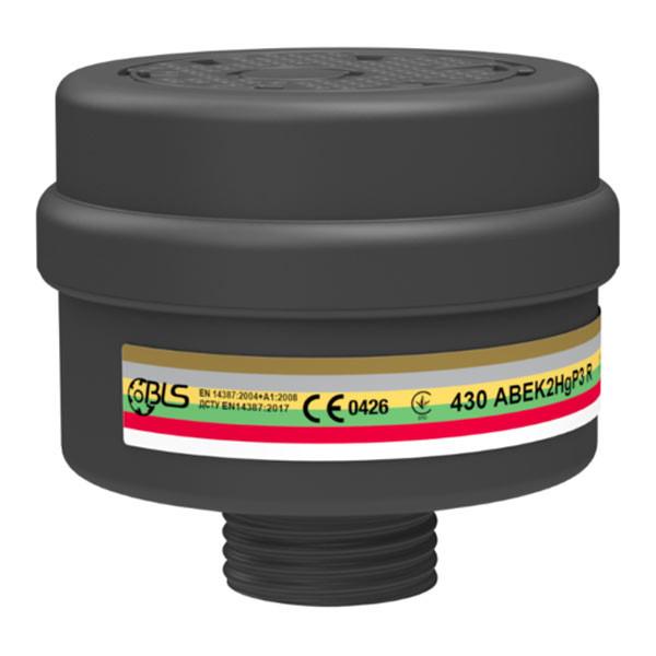 Filtro BLS 430 tipo ABEK2HgP3 R