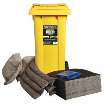 Kit absorbentes para mantenimiento industrial