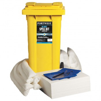 Kit absorbentes para aceites e hidrocarburos