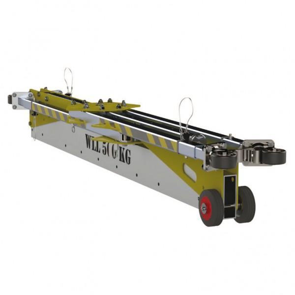 Pórtico para elevación de personas y cargas hasta 500kg