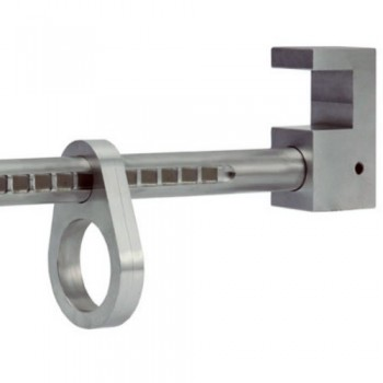 Anclaje anticaídas para ser diseñado para ser instalado rápidamente sobre vigas. Apertura de 195 a 400mm. Fabricado en aluminio.