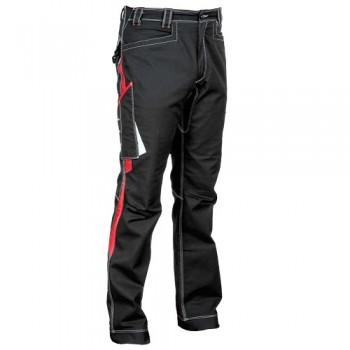 Pantalones resistentes a la abrasión marca Cofra. cuentan con triple costura y un diseño acabado en tres tonos.