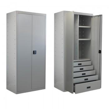 Mueble modular para varios usos, desde archivador de documentos hasta vestuario, herramientas de trabajo o material diverso