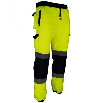 Pantalón en tejido polar de alta visibilidad