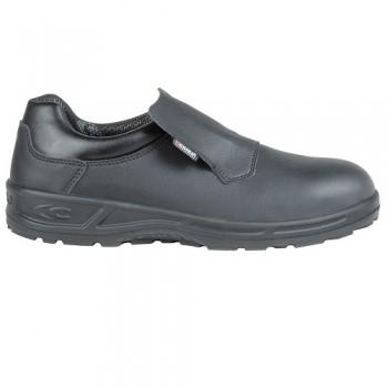 Calzado de seguridad sin cordones con puntera de seguridad de acero resistente a 200 Julios