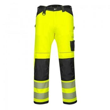 Pantalón de alta visibilidad con diseño único y diferenciador.